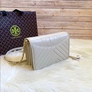 Tory Burch Quilted Birch Alexa Combo Crossbody Bag